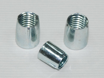 3 Teeth Conical Nuts, Stainless Steel 3 Teeth Conical Nut